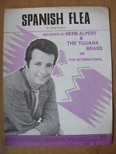 VINTAGE SHEET MUSIC - SPANISH FLEA - HERB ALBERT & THE TIJUANA BRASS