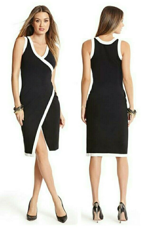 GUESS BY MARCIANO CLARA SWEATER PENCIL DRESS