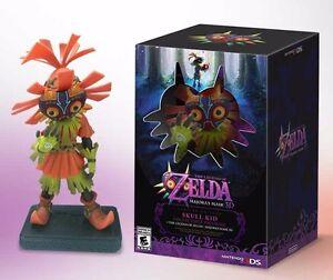 The-Legend-Of-Zelda-Majora-039-s-Mask-3DS-Limited-Edition-3D-Action-Figure-Only-New