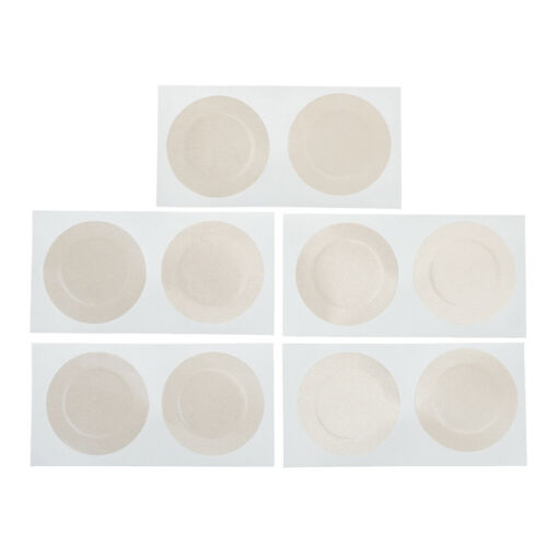 10Pcs//bag Disposable Covers Stickers Bra Pad Patch Invisible Adhesive Nipple/_TI