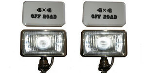 Land-Rover-SUV-4x4-Cromo-Acero-Inoxidable-faros-faro-antiniebla-Barra-Roll-Bar