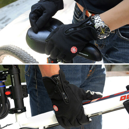 Men Women  Screen Windproof Waterproof Outdoor Sport Gloves Winter Gloves