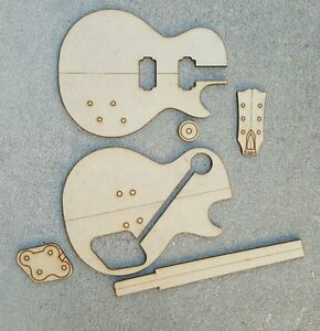 Image Is Loading Les Paul Guitar Template Set