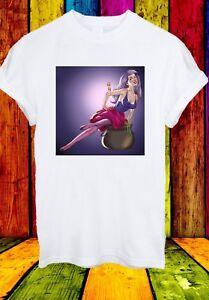 Maga-mago-LA-SPADA-NELLA-ROCCIA-Cattivi-Disney-Uomini-Donne-Unisex-T-shirt-780