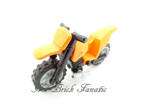 Motorcycle Lego Orange Dirt Bike Motorbike