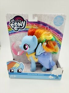 """My Little Pony Rainbow Dash Snap On Fashion Dress Up Toy MLP 6"""" Figure NEW"""