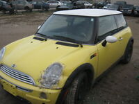 **OUT FOR PICKING!!** WS6475 2003 MINI COOPER Woodstock Ontario Preview