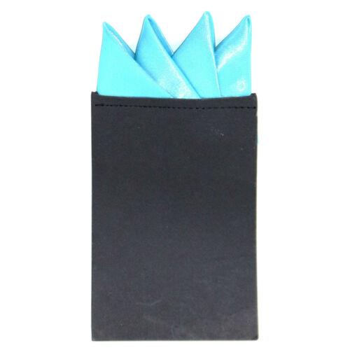 Men/'s Pre-Folded Triangular Satin Wedding Pocket Square