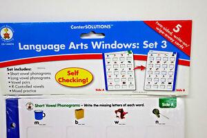 Language-Arts-Windows-Set-3-two-sided-write-on-wipe-away-cards-reading-writing