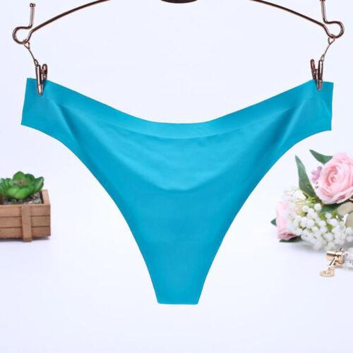 Women Soft Underpants Lady Seamless Lingerie Briefs Hipster Underwear Panties