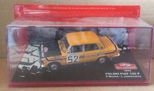 DIE-CAST-034-POLSKI-FIAT-125-P-1972-RALLY-MONTE-CARLO-034-SCALA-1-43