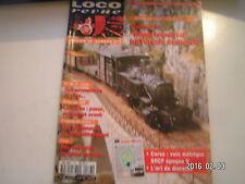 **c Loco Revue n°577 Des guérites en HO / ZZ GC 10000 de l'insolite sur rails