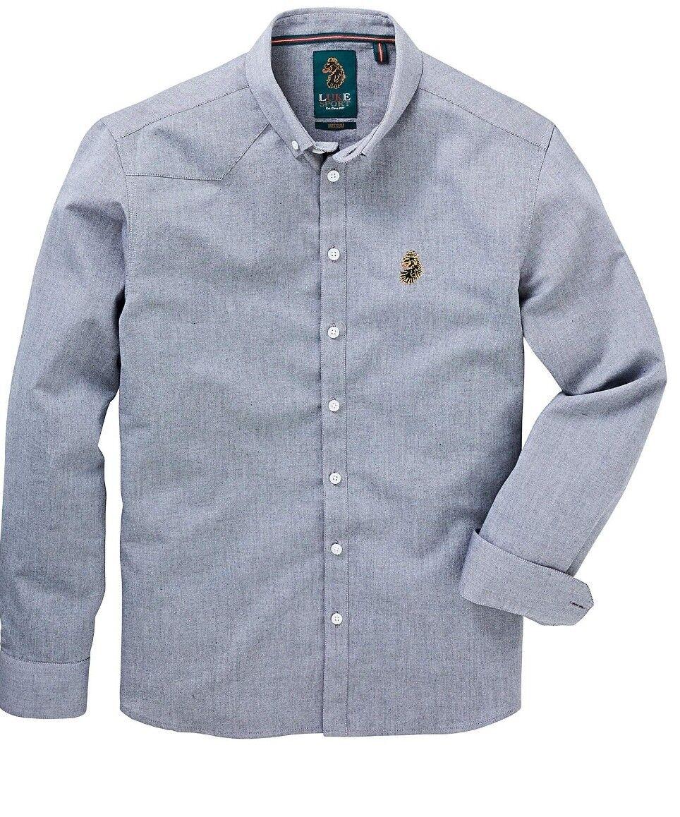 Luke Sport Shirt RRP  UK Size XL 42 45 inches (genuine) b6