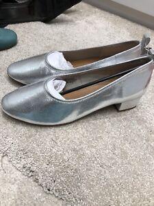 H\u0026M Premium Quality Silver Leather