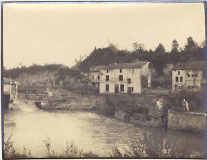 Francia Belgium Grande Guerre WW1 Foto Vintage Verso 1915