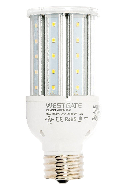 Westgate LED Corn Lamp Light Bulb - 100-277V - High Lumen -DLC and UL
