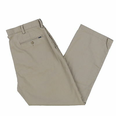 Ralph Lauren Polo Relaxed Fit Classic Pant Mens Size 30X32 Tan
