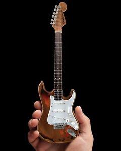 Mini-Guitar-Rory-Gallagher-Collectible-Custom-Shop-Fender-Strat-Guitar-Replica