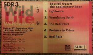 Ticket-SDR3-Wild-Life-Wettbewerb-27-Sept-1996-RARE-VERY-GOOD