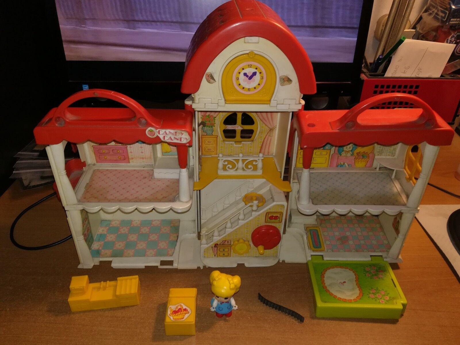 BABY CANDY CANDY PUPATIC KOEDA CHAN LUCIE TAKARA POLISTIL PONY HOUSE VILLAGE