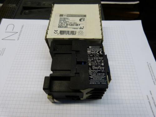 1stk telemechanique contacteur lc1d1201b7 24 V 3 S//1ö de DESTOCKAGE
