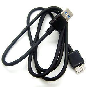 USB 3.0 Data SYNC Cable Cord For Seagate Slim Portable For Mac 500GB STCF500203