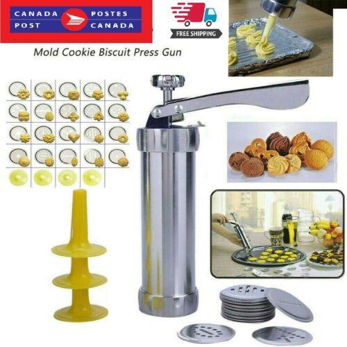 Cookies Press Gun Cake Decorator Pump Machine Kit Icing Syringe Biscuit Maker