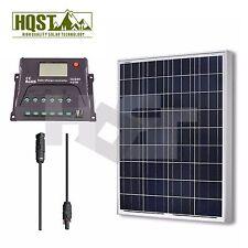 Solar Panel 100 Watt Polycrystalline Bundle Kit 12V RV Boat 100W Off Grid System
