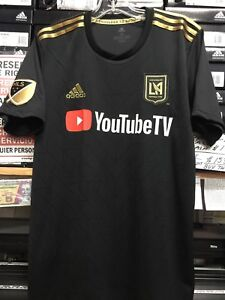 81ec18262 Adidas LAFC home Jersey  10 Carlos Vela Black And Gold Size Small ...