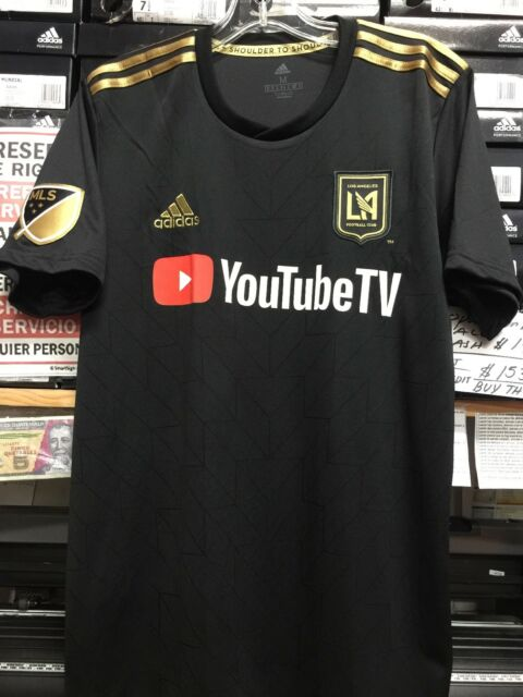 pretty nice 8577a 7a051 adidas Men's Lafc Los Angeles FC Home Soccer Jersey (black Gold) MLS 2018 M