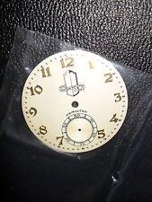 "Hamilton ""Packard"" 12 Size, Beautiful 2-Tone Pocket-Watch Dial, NOS... L@@K"