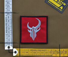 "Ricamata / Embroidered Patch Devgru ""Red Demon"" with VELCRO® brand hook"