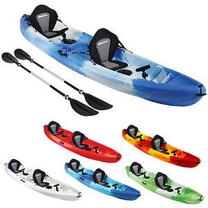 On top tandem double kayaks ocean river sea best uk fishing touring