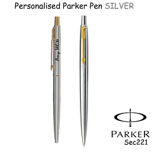 Personalised Engraved Parker Jotter