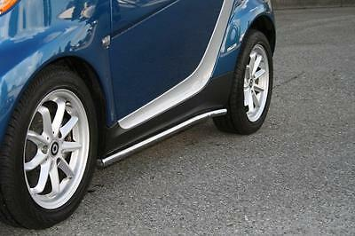 SMART CAR 451 STAINLESS STEEL SIDE RAILS 2008-2014