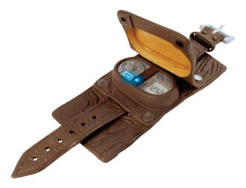 Doctor Who Vortex Manipulator LCD Leather Wristwatch