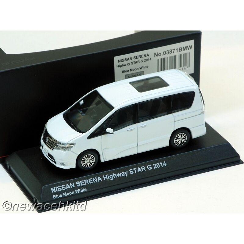 Nissan Serena Highway Estrella G 2014 1 43  03871BMW Kyosho Models