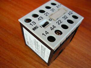 Schuetz-BBC-HC-2-22-Hilfsschuetz-Contactor-relay-2-2-kW-Spule-24VDC-31