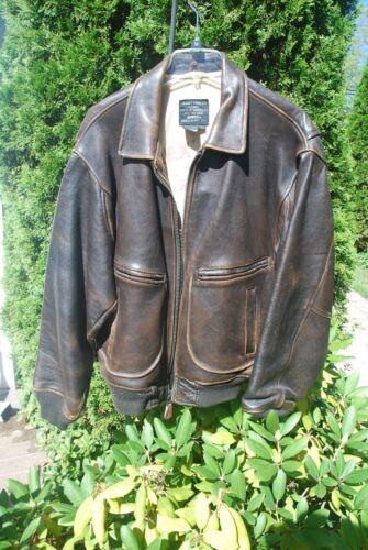 Men's Avirex G-1 leather flight jacket - image 1