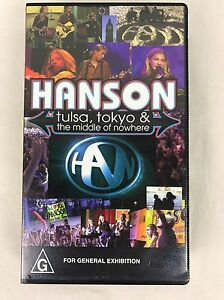 Hanson-VHS-Tape-Concert-Tour-Tulsa-Tokyo-and-the-Middle-of-Nowhere-1997