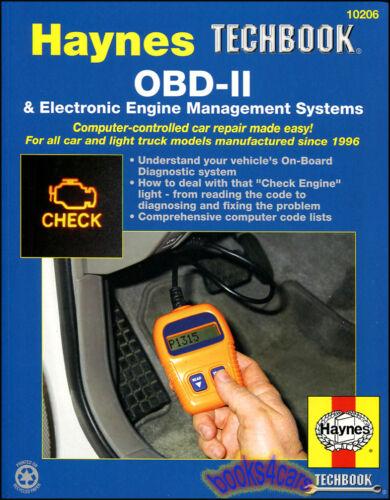 OBDII MANUAL OBD2 SHOP REPAIR OBD SERVICE BOOK HAYNES CHILTON