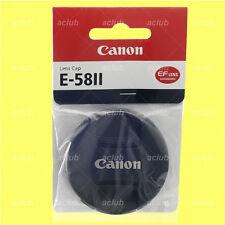 Genuine Canon E-58II Front Lens Cap 58mm Lens Dust Cover Protector E-58 II