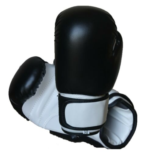 BOXING GLOVES Muay Thai Punching Sparring Fight Mma Martial Arts Training Mitts
