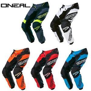 O-039-Neal-Element-MX-Pantaloni-Racewear-Pant-moto-cross-SX-Enduro-Fuoristrada-Moto-Quad