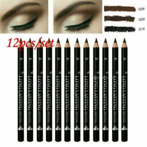 12PCS-Waterproof-Eye-Brow-Eyeliner-Eyebrow-Pen-Pencil-Makeup-Cosmetic-Tool