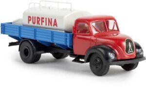 Brekina-42260-1-87-Magirus-Mercur-con-Pieza-Tanque-Purfina-Nuevo