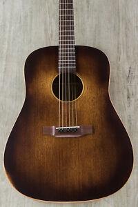 martin 15 series d 15m streetmaster acoustic guitar w gig bag mahogany burst 729789540551 ebay. Black Bedroom Furniture Sets. Home Design Ideas
