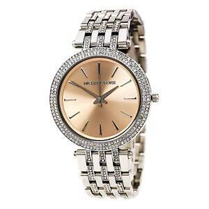 eaa254aa8dc1 Michael Kors Darci Glitz MK3218 Wrist Watch for Women - Silver for ...