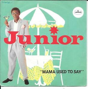 45-TOURS-7-034-SINGLE-JUNIOR-MAMA-USED-TO-SAY-INSTRUMENTAL-1981