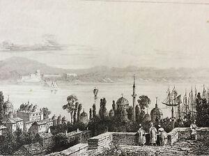 Armenia-Patriarcat-Turkey-Constantinople-View-Pera-Christian-XIX-Th